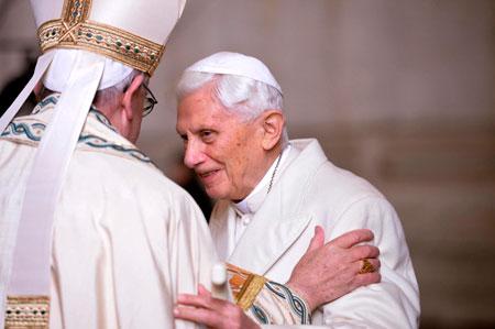 papa francisco benedicto xvi puerta santa jubileo misericordia inmaculada concepción