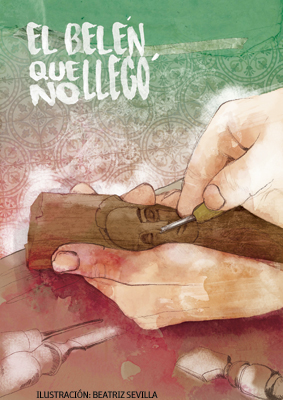 ilustración de Beatriz Sevilla para el cuento de Navidad 2015