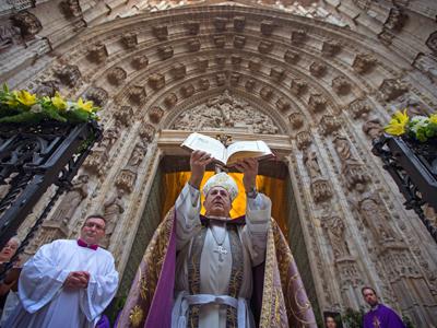 arzobispo Sevilla inauguración Año Santo de la Misericordia apertura Puerta Santa 13 diciembre 2015