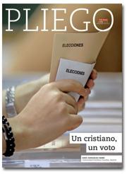 portada Pliego VN Un cristiano, un voto 2968 diciembre 2015