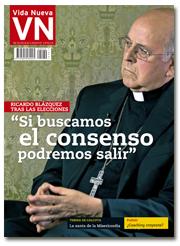 portada Vida Nueva Cardenal Blázquez después de las elecciones generales 20-D 2970 diciembre 2015 pequeña