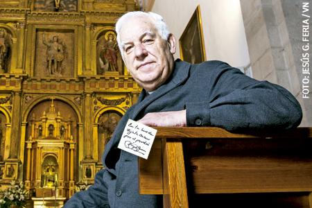 Ángel Moreno, de Buenafuente, nombrado misionero de la Misericordia por el papa Francisco para el Año Santo Jubileo de la Misericordia
