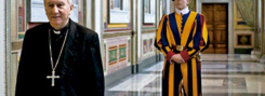 cardenal Pietro Parolin, secretario de Estado vaticano