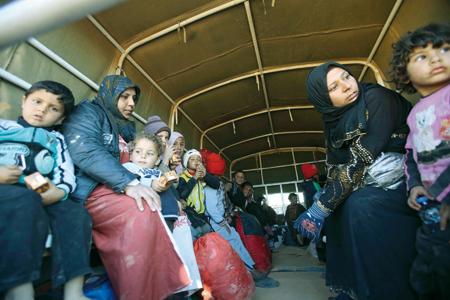 regugiados siria tierra santa cristianos