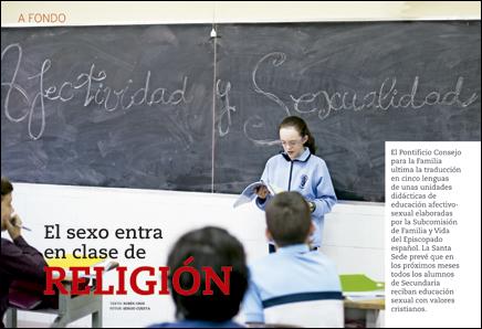apertura A fondo El sexo entra en clase de Religión 2973 enero 2015