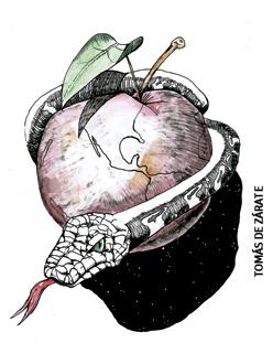 ilustración de Tomás de Zárate para el artículo de Pablo dOrs 2974