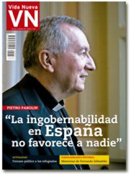 portada VN Entrevista a Pietro Parolin 2972 enero 2016 pequeña