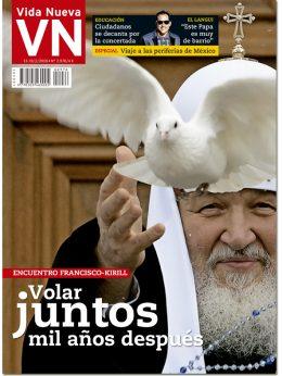portada VN Próximo encuentro entre Francisco y Kirill de Moscú 2976 febrero 2016 Grande