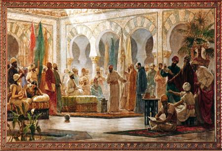 al-andalus-1-G Dionís Baixeras corte de Abderramán III en Córdoba