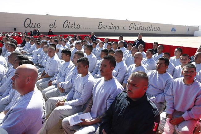 papa Francisco encuentro con presos en el Centro de Readaptación Social CeReSo n 3 Ciudad Juárez México 2016