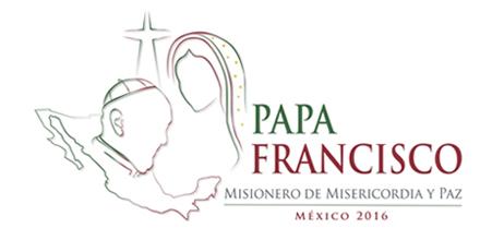 logo del viaje del papa Francisco a México febrero 2016