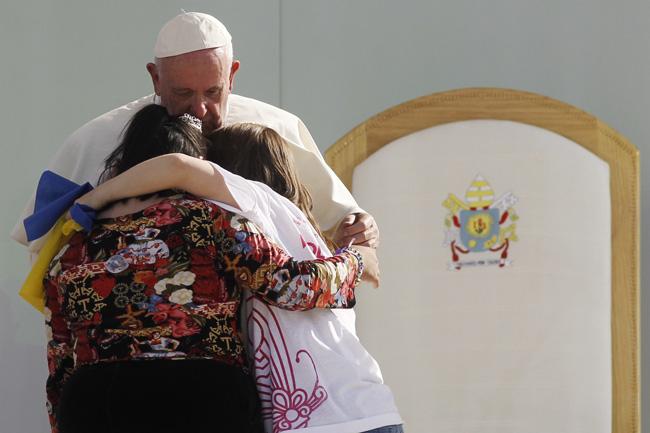 papa Francisco encuentro con los jóvenes de México en Morelia 16 febrero 2016