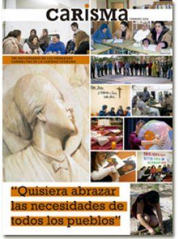 portada primer número suplemento Carisma, dedicado a las Carmelitas Vedrunas, febrero 2016
