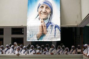 Mural Madre Teresa de Calcuta