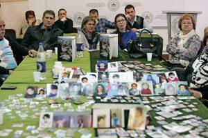 íctimas de la matanza en Srbrenica