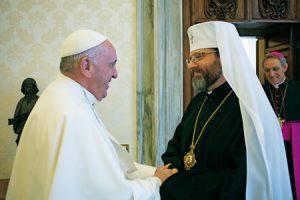 papa-francisco-y-arzobispo-de-Kiev-Sviatoslav-Shevchuk-G