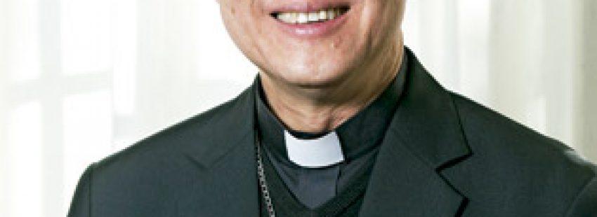 Luis Antonio Tagle, cardenal arzobispo de Manila, Filipinas, y presidente de Caritas Internationalis