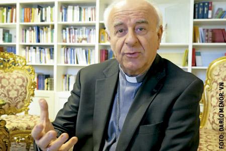 Vincenzo Paglia, arzobispo, presidente del Pontificio Consejo para la Familia