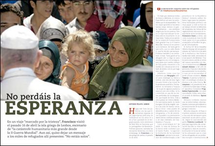 apertura A fondo Viaje papal a Lesbos 2985 abril 2016