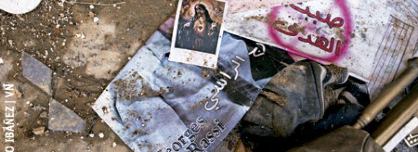 ataque de los yihadistas del ISIS a una iglesia siria