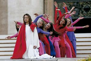 baile con motivo del Año de la Misericordia Vaticano 3 abril 2016