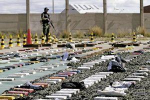 alijo de droga decomisado en la frontera entre Bolivia y Chile