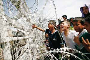Idomeni niños Grecia