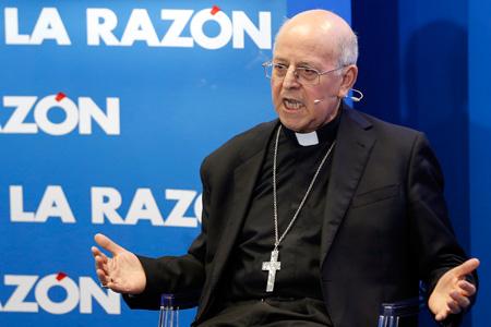 cardenal Ricardo Blázquez arzobispo de Valladolid y presidente de la CEE en un encuentro con La Razón 6 abril 2016