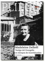portada Pliego Madeleine Delbrel 2983 abril 2016