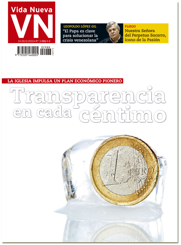 portada Vida Nueva Plan económico de la Iglesia española 2988 mayo 2016 Grande
