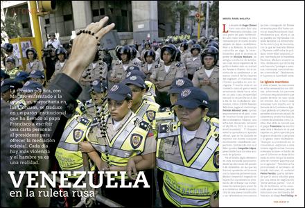 apertura A fondo Venezuela en la ruleta rusa 2988 mayo 2016