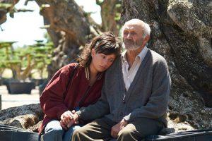 'El olivo', fotograma de la película