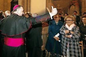 Luis Ángel de las Heras toma de posesión de Mondoñedo Ferrol