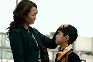 'Más allá de las montañas', fotograma de la película
