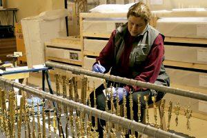 restauración de la custodia de Arfe de la Catedral de Toledo 2016