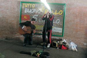 Roberto Carlos, artista callejero