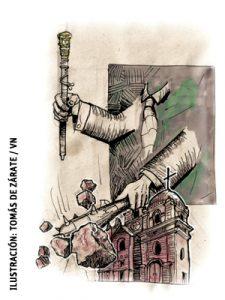 ilustración de Tomás de Zárate para el artículo de Francisco Vázquez 2990