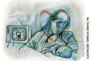 ilustración de Tomás de Zárate para el artículo de Francesc Torralba sobre el amor 2991