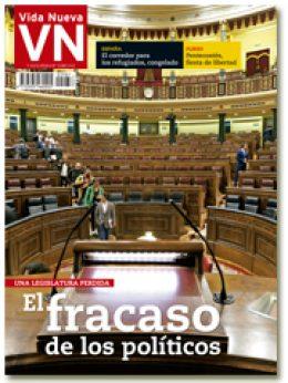 portada VN El fracaso de los políticos final de legislatura 2987 mayo 2016 pequeña