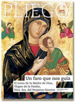 portada Pliego VN El icono de la Virgen del Perpetuo Socorro 2988 mayo 2016