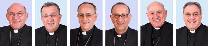 obispos españoles miembros del consejo C-5 para la reflexión sobre la nueva Conferencia Episcopal Española