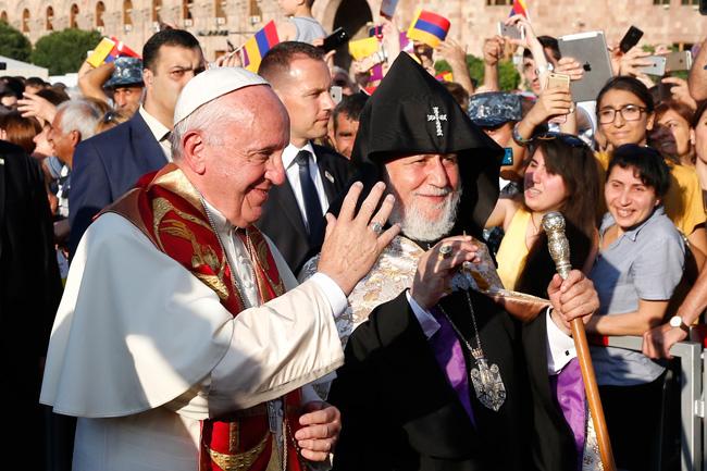 papa Francisco viaje a Armenia 24-26 junio 2016