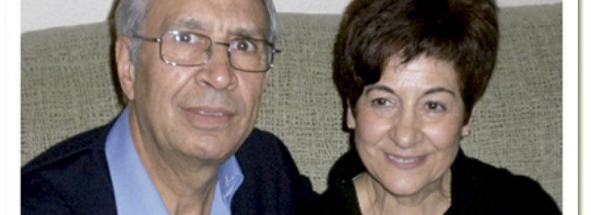 José Luis Fernández y su mujer, matrimonio católico de Arganda del Rey Madrid