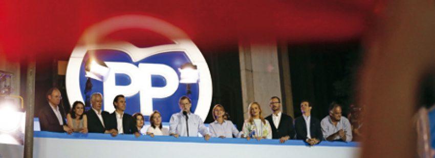 Balcón PP elecciones 26-J