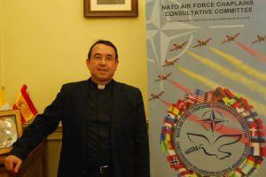 Pablo Panadero, vicario general del Arzobispado Castrense de España