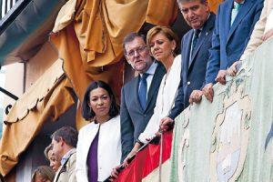 Rajoy Corpus en Toledo