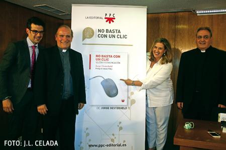 Presentación en Madrid de 'No basta con un clic'