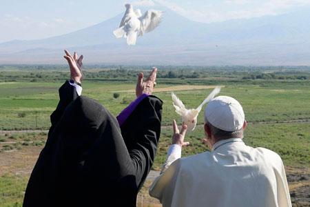 Viaje de Francisco a Armenia junio 2016