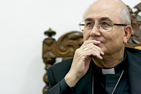 Adolfo González Montes, obispo de Almería y presidente de la Comisión Episcopal para la Doctrina de la Fe