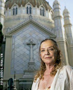 Alicia Barrios, periodista y amiga personal del papa Francisco, autora del libro Mi amigo el padre Jorge